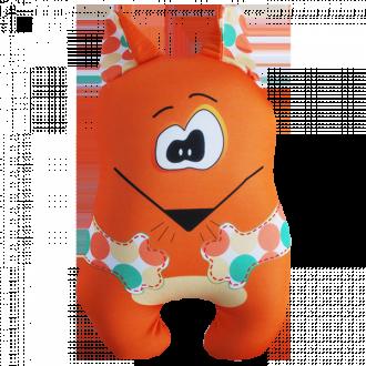 Игрушка-антистресс  Лиса с ушами 25 см (под заказ)
