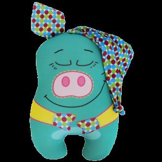 Игрушка-антистресс Свинка в колпаке 30 см