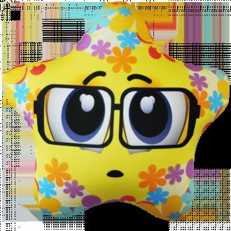Игрушка-антистресс Звезда желтая 25*25 см