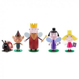 Игровой набор «Бен и Холли», 5 фигурок (под заказ)