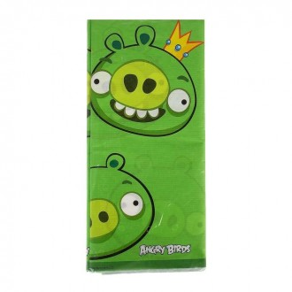 Скатерть бумажная  Angry Birds, 140 х 260 см