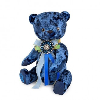 Медведь BernArt сапфировый (30 см)