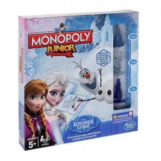 Настольная игра «Монополия. Холодное сердце» (под заказ)