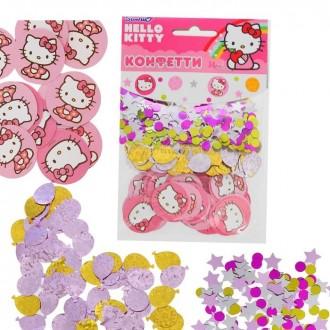 Конфетти Hello Kitty (3 вида, 34 гр)