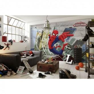 Фотообои Komar 3,68х2,54м Человек-паук 2 (под заказ)
