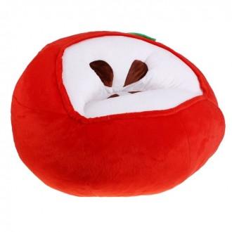 """Мягкая игрушка """"Кресло Яблоко"""", цвет красный (под заказ)"""