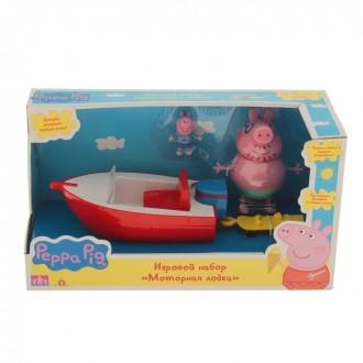 "Игровой набор ""Моторная лодка"" Peppa Pig (под заказ)"