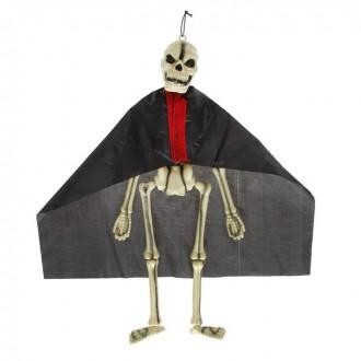 Скелет на подвесе в плаще (под заказ)