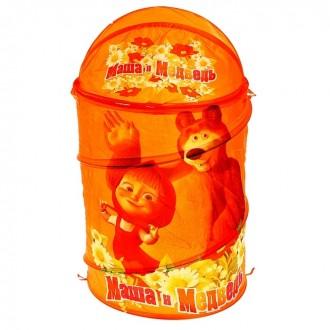 """Корзина для игрушек """"Маша и Медведь"""" (под заказ)"""