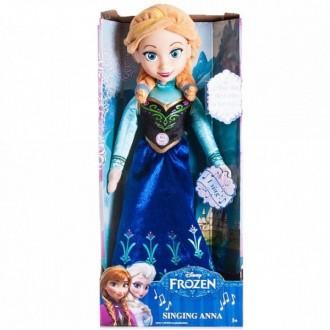 Кукла Холодное сердце Принцесса Анна 35см, функциональная (под заказ)
