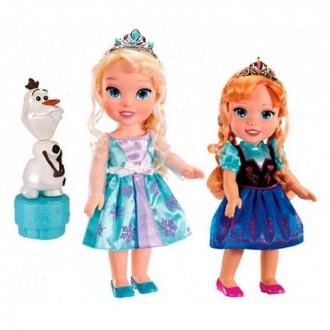 """Игровой набор """"Холодное Сердце"""", 2 куклы и Олаф (под заказ)"""