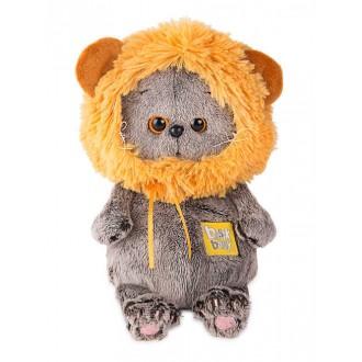 Кот Басик BABY в шапке лев (20 см)