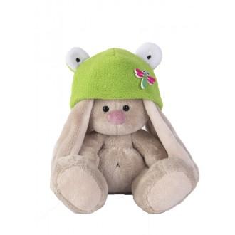 Зайка Ми в шапке - лягушка (15 см)