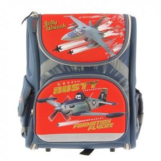 Ранец стандарт раскладной Disney Planes 35*31*14 EVA-спинкой (под заказ)