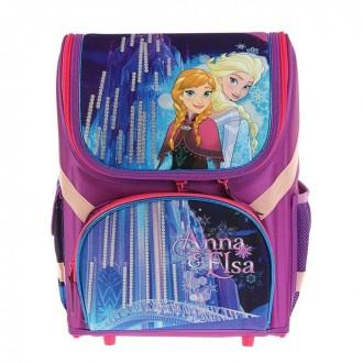 Ранец Стандарт раскаладной Disney Frozen 36*26*17 EVA-спинка (под заказ)