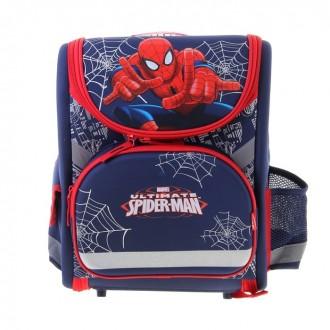 Ранец стандарт раскладной Disney Spiderman 35*31*14 EVA-спинкой (под заказ)