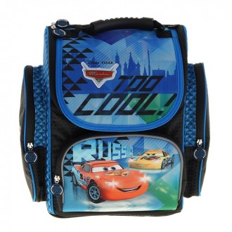 Ранец стандарт Disney Cars Лед (под заказ)