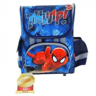 Ранец стандарт раскладной Disney Spiderman 36*26*17 EVA-спинкой (под заказ)