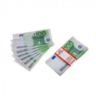 Пачка купюр 100 евро (под заказ)