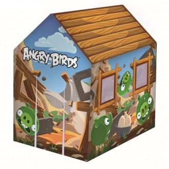 Игровой домик Angry Birds 102*76*114см, от 3-10лет (под заказ)