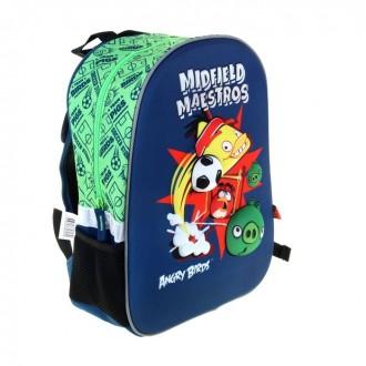 Рюкзак каркасный Angry Birds 36*28*12 (под заказ)