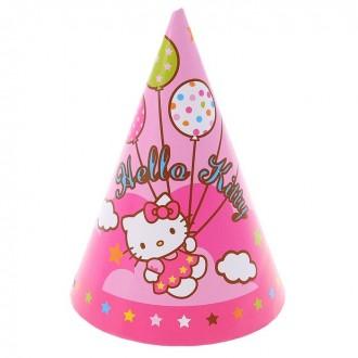 Колпак Hello Kitty, набор 8 штук (под заказ)