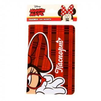 "Обложка для паспорта ""Minnie Mouse"", Минни Маус (под заказ)"