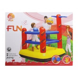 Детская спортивная арена 1мяч,груша,2боксерские перчатки155*155*189см,от3-6лет (под заказ)