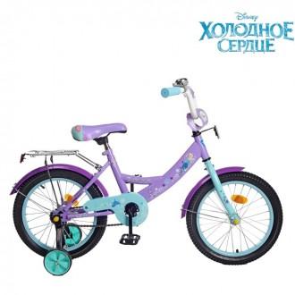 """Велосипед двухколесный 16"""" GRAFFITI """"ХОЛОДНОЕ СЕРДЦЕ"""" (под заказ)"""