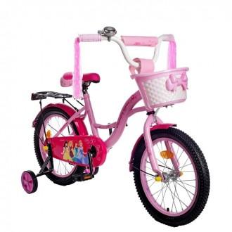 """Велосипед двухколесный 16"""" GRAFFITI """"ПРИНЦЕССЫ"""", цвет: розовый (под заказ)"""