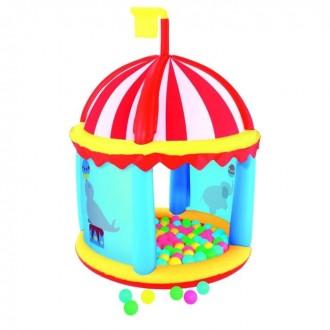 """Игровой центр """"Форт"""" 99 × 132 см с шариками в комплекте (под заказ)"""