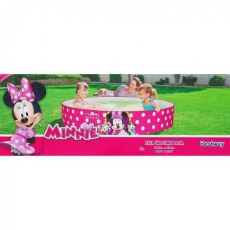 """Детский ненадувной бассейн """"Минни"""", 340 л, от 2-х лет (под заказ)"""