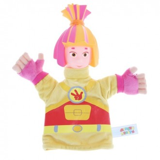 "Мягкая игрушка на руку ""Симка"" 25 см (под заказ)"