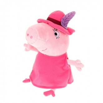"""Мягкая игрушка """"Мама в шляпе"""" 30 см (под заказ)"""