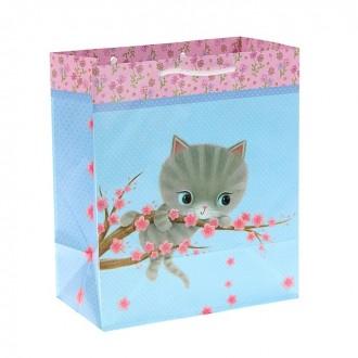 "Пакет подарочный ""Котенок Киря"", 20,3 х 24 х 11,5 см, Hallmark"