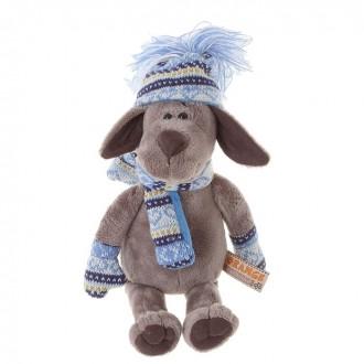 """Мягкая игрушка """"Пёс Барбоська в шапочке"""" 20 см"""