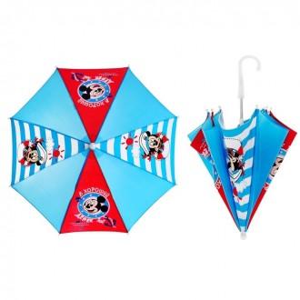 """Зонт детский """"Хороший денек"""", 8 спиц, d=52 см, Микки Маус (под заказ)"""