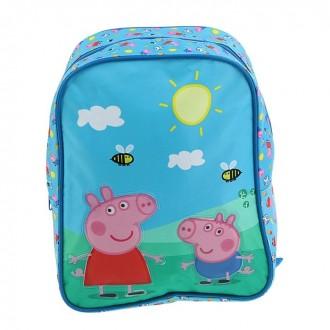 Рюкзачок средний Свинка Пеппа 28*21*12,5см (под заказ)