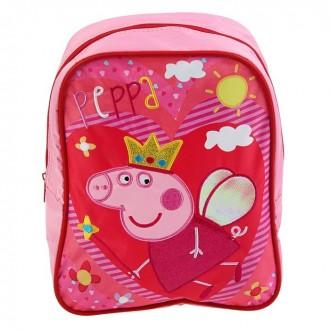 Рюкзачок средний Свинка Пеппа. Королева 28*21*12,5см (под заказ)