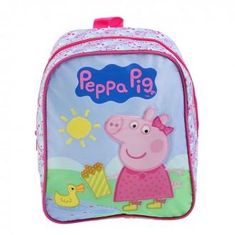 Рюкзачок средний Свинка Пеппа. Утка 28*21*12,5см (под заказ)