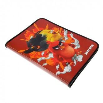 Папка для тетрадей А4 молния вокруг пластик Angry Birds Movie (под заказ)