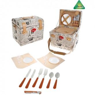 Корзина-холодильник для пикника Violai на 2 персоны (под заказ)