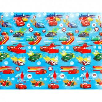 """Детский коврик """"Тачки"""" 200 × 150 × 0,5 см"""