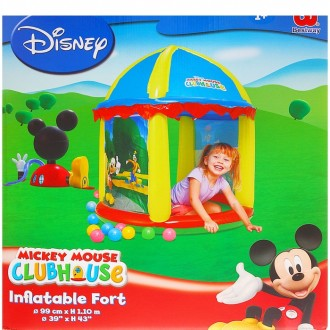 Игровой центр с куполом Mickey Mouse d=99см h=110см, от 1+ (под заказ)