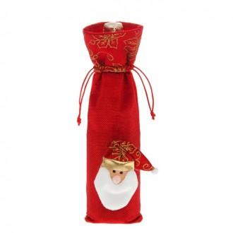 """Одежда на бутылку """"Дедушка Мороз"""" 36 × 11 см"""