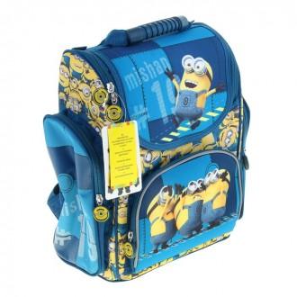 Рюкзак ортопедический средний Гадкий Я (Миньоны).Universal Studios 18 × 32 × 36 см (под заказ)