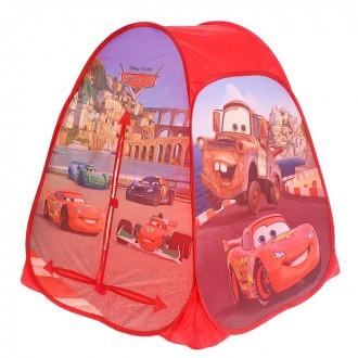 Игровая палатка Cars 2 81 × 81 × 91 см (под заказ)