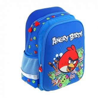 Ранец Super bag Angry Birds с ортопедической спинкой 38 × 40 см (под заказ)