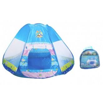 """Игровая палатка """"Юрта"""", цвет голубой"""