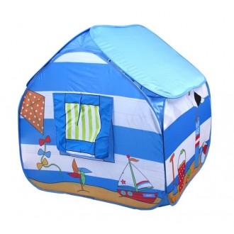 """Игровая палатка """"Морской домик"""", цвет голубой (под заказ)"""